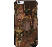 Egyptian funeral iPhone Case/Skin