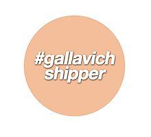 #gallavich shipper - orange  Photographic Print