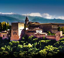 A postcard from Granada by Shienna