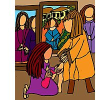 MARY WASHES JESUS FEET Photographic Print