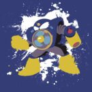 Airman Splattery T by thedailyrobot
