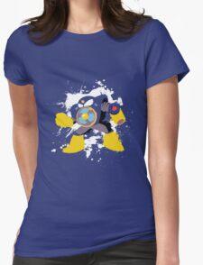 Airman Splattery T Womens Fitted T-Shirt