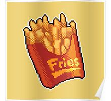 Pixel Fries Poster