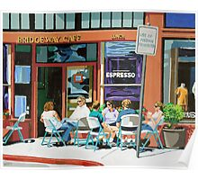 Lunch at the Bridgeway Cafe Poster