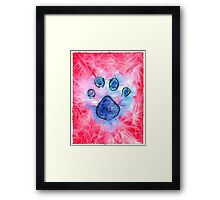 Dog Print Framed Print