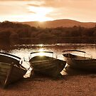 Derwent Water Sunset by Mishka Góra