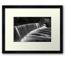 Cramond Falls Framed Print