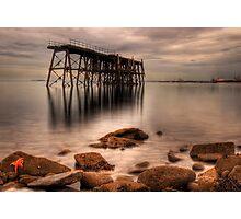 Starfish & The Rocks Photographic Print