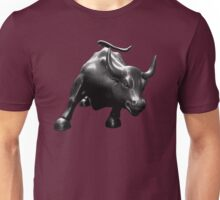 The Wall Street Bull Unisex T-Shirt