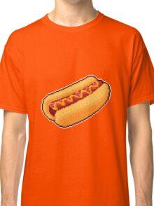 Pixel Hot Dog Classic T-Shirt