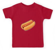 Pixel Hot Dog Kids Tee