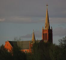 """""""Stately St. Mary's Church"""" by dfrahm"""
