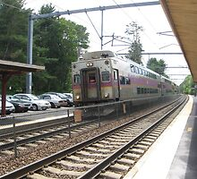 Fully Doubled Decker Commuter Rail by Eric Sanford