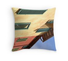 Siena Shutters Throw Pillow