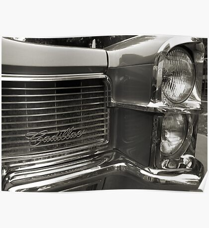 Cadillac Coolness Poster