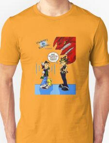 Pokemon vs Yugioh T-Shirt