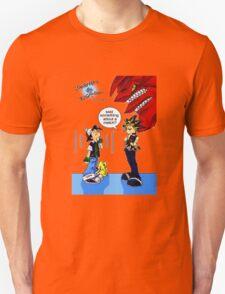Pokemon vs Yugioh T-Shirt