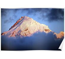 Mt Hood at Sunset Poster