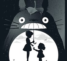 My Neighbour Totoro by dannyaasgard