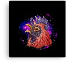 This Chicken has seen things.. Canvas Print