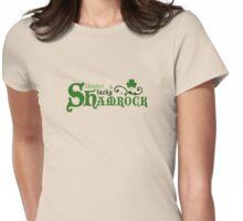Lucky Shamrock Womens Fitted T-Shirt