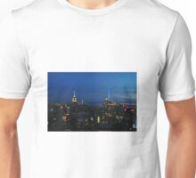 New York at night  Unisex T-Shirt