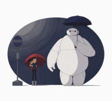 Big Hero 6 Totoro by dannyaasgard
