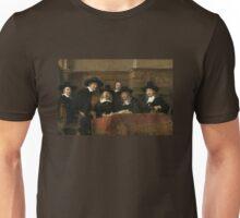 The Sampling Officials by Rembrandt van Rijn 1662 Unisex T-Shirt
