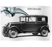 1928 Chevrolet Poster