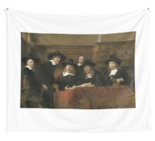 The Sampling Officials by Rembrandt van Rijn 1662 Wall Tapestry