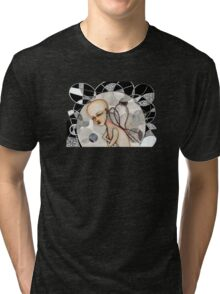In a bubble Tri-blend T-Shirt