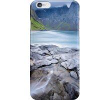 Kvalvika Beach - Lofoten Islands iPhone Case/Skin