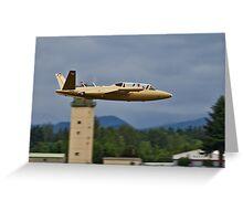 Fouga Magister Greeting Card