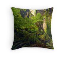 King Ferns - Carnarvon Gorge Throw Pillow