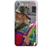 A Male Protester During  Anti-Blilderberg March in Tirol 2015 iPhone Case/Skin