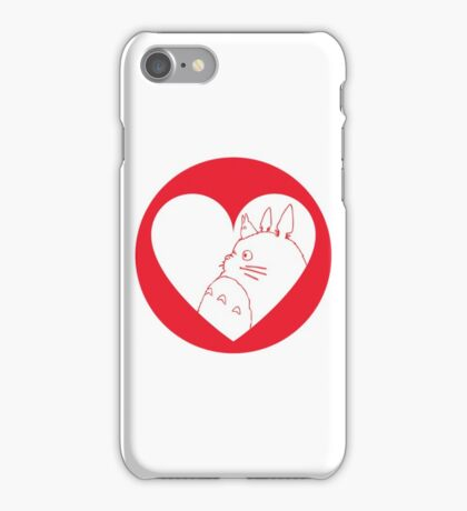 My Neighbour Totoro Heart iPhone Case/Skin