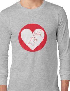 My Neighbour Totoro Heart Long Sleeve T-Shirt