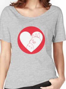 My Neighbour Totoro Heart Women's Relaxed Fit T-Shirt