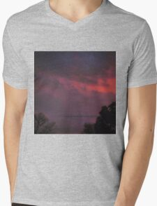 Clouds of Love Mens V-Neck T-Shirt