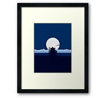 Spirited Away Haku Framed Print