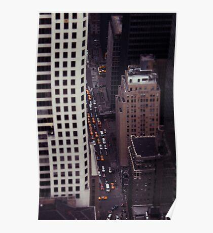 New York Street Poster