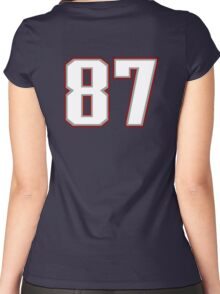 #87 Women's Fitted Scoop T-Shirt