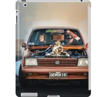GEMSKID Bairnsdale Dragway Burnout. iPad Case/Skin