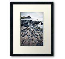 The Giants Causeway 2 Framed Print