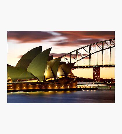 Sydney Icons Closeup Photographic Print