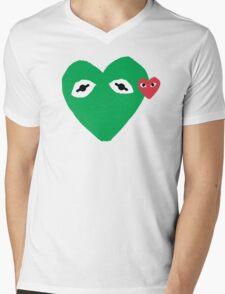 Kermit Des Garcons Mens V-Neck T-Shirt