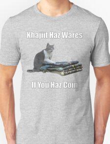 Khajiit haz wares - V.3 classic meme Unisex T-Shirt