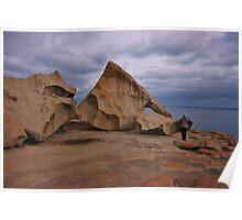 Remarkable Rocks ~ Kangaroo Island Poster
