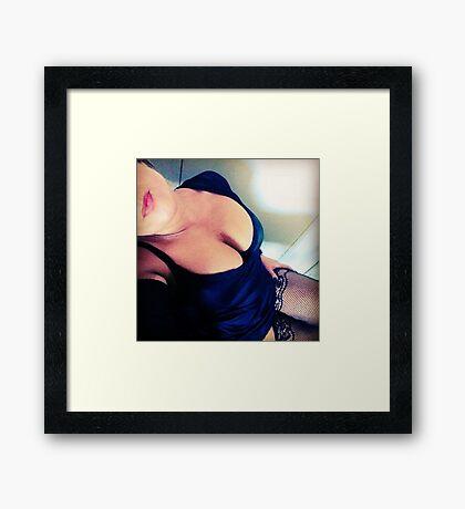 Sexy Catalea Framed Print