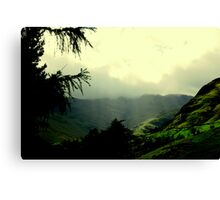 """LANGDALE LIGHT"" Canvas Print"